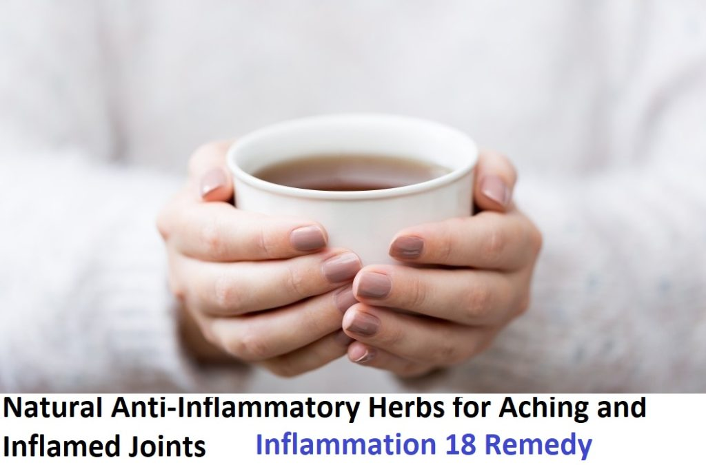 list of natural anti-inflammatory herbs for aching joints