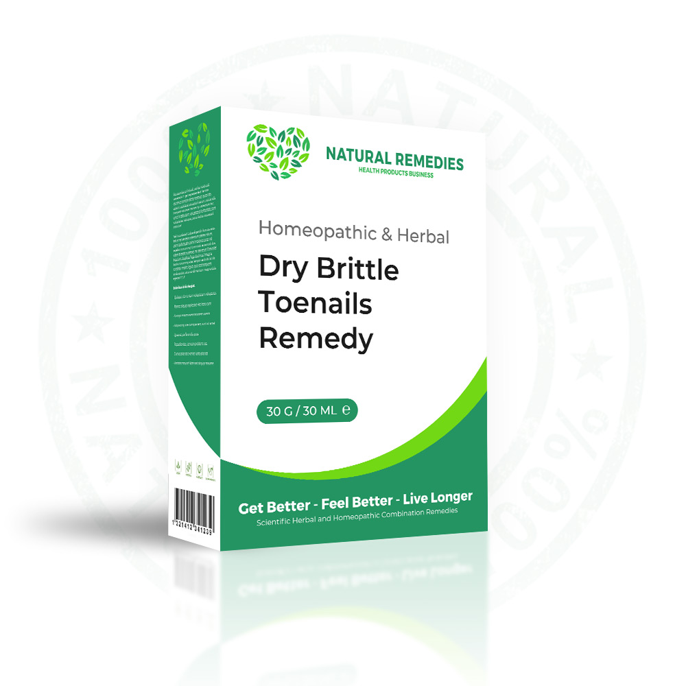 Natural Treatment for Dry Brittle Toenails