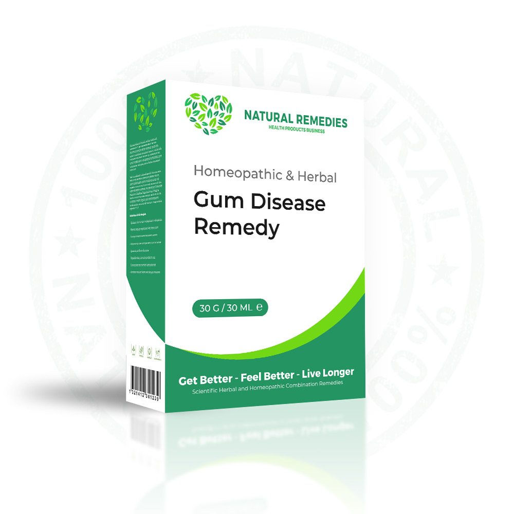 best homeopathic cure for gum disease