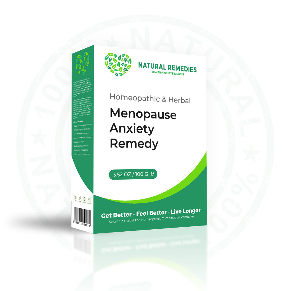 HOMEOPATHIC REMEDIES FOR MENOPAUSE ANXIETY